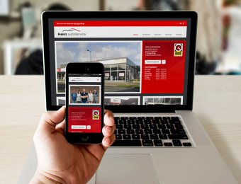 huisstijl en website Heinz autoservice