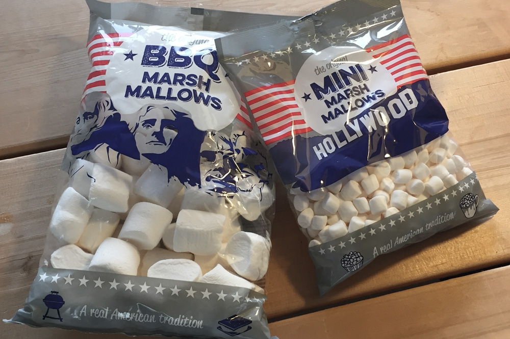 verpakking Marsh Mallows